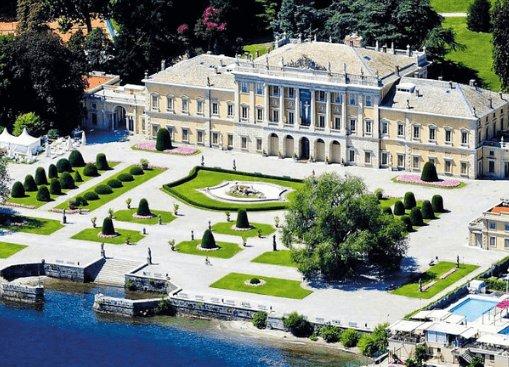 Villa Olmo Como panoramica