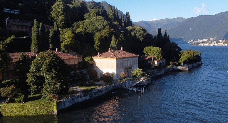 villa Pizzo, Cernobbio. Lago di Como