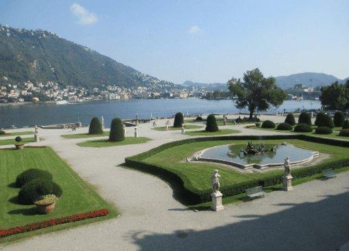 Parco di Villa Olmo Como