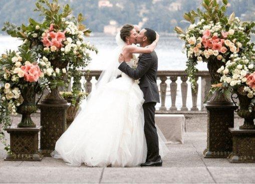 John Legend matrimonio lago di Como