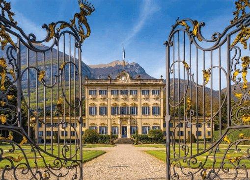 Cancellata d'ingresso Villa Sola Cabiati